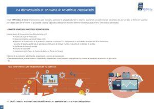 Implantación de Sistemas de Gestión de Producción