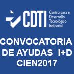 AYUDAS CIEN2017 CDTI
