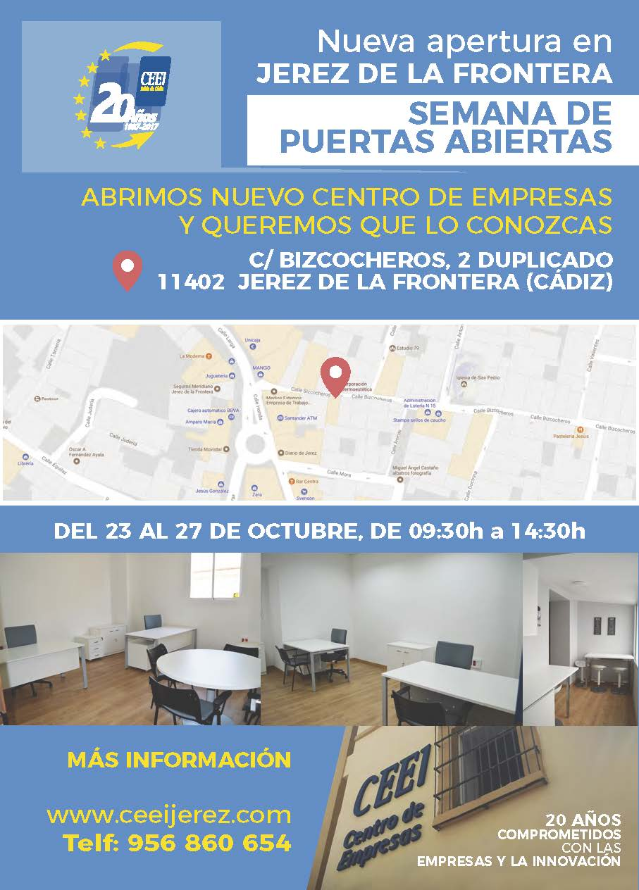 Semana de Puertas Abiertas CEEI Jerez