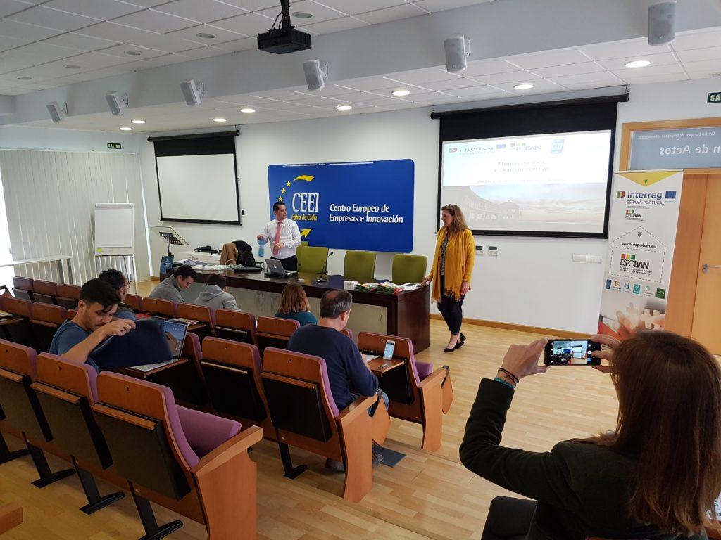 Programa Emprendedores ESPOBAN 2, dia 1
